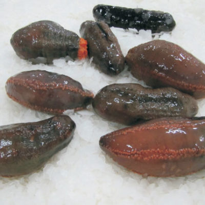 how to clean raw sea cucumber